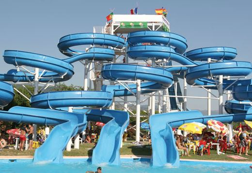 Aquapiper With A Multitude Of Slides Lagoons And Swimming Pools Is Considered As One The Best Theme Parks In Italy